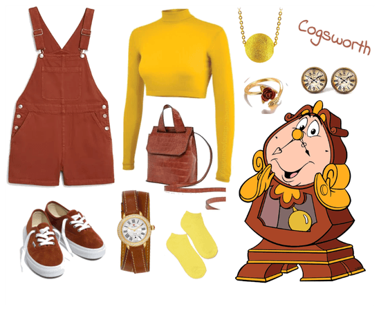 Cogsworth outfit - Disneybounding