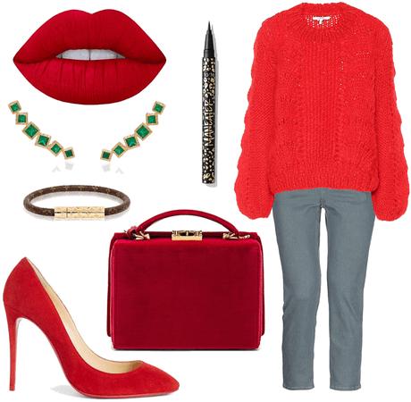 Passionate Crimson