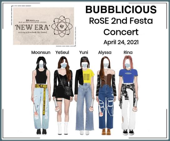 BUBBLICIOUS (신기한) RoSE 2nd Festa Concert