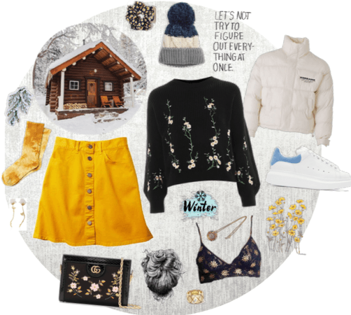 winter cabin adventure