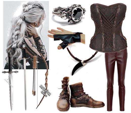 Medieval warrior (woman)