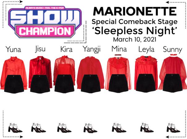 마리오네트 (MARIONETTE) - [SHOW CHAMPION] Special Comeback Stage