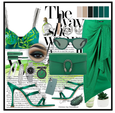 Monochrome:green