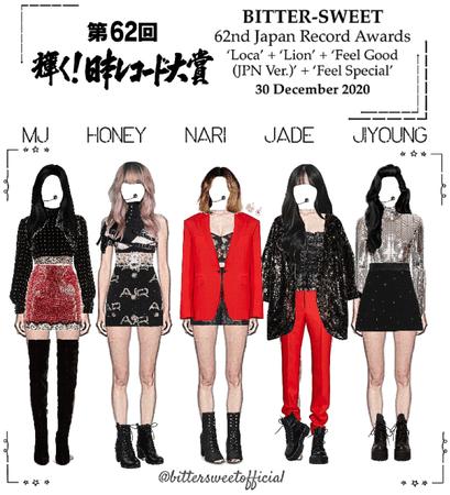 BITTER-SWEET [비터스윗] 62nd Japan Music Awards 201230
