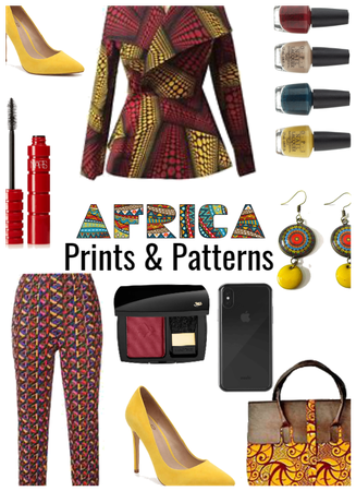 African Prints- Mix Print Style