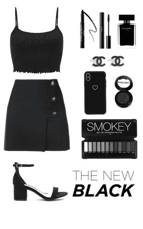 Black Summer Look