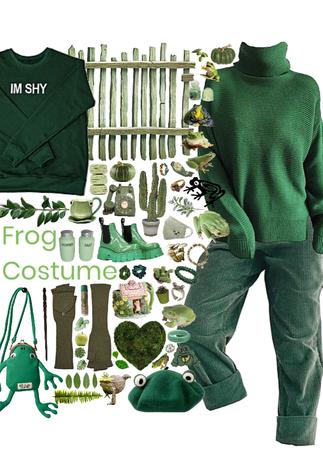 diy froggy costume
