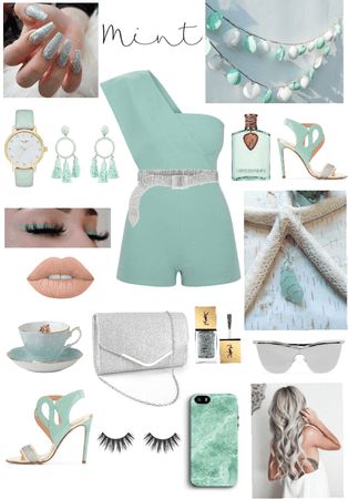 Mint with silver💿