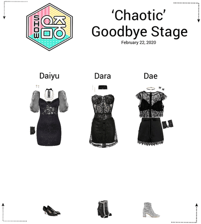 {3D}'Chaotic' Music Core Goodbye Stage