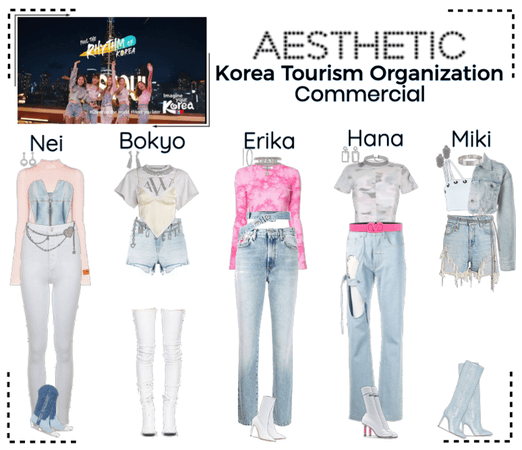 AESTHETIC (미적) Korea Tourism Organization CF