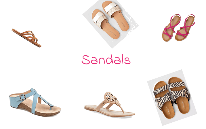 sandals in the house