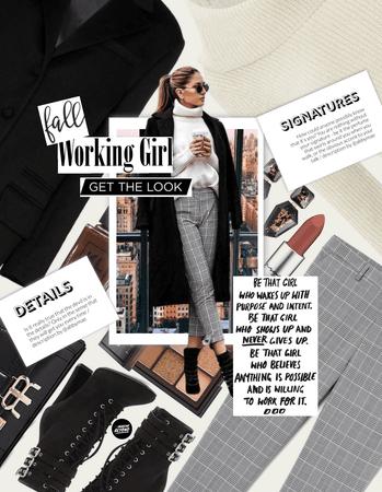 Fall Working Girl