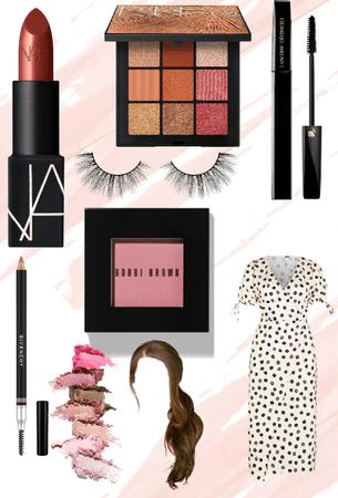 a makeup look