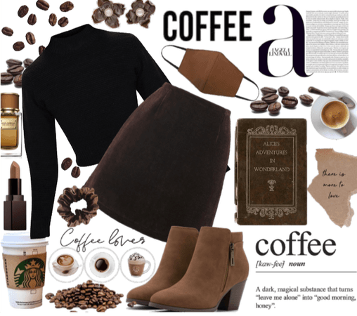 | dark academia coffee |