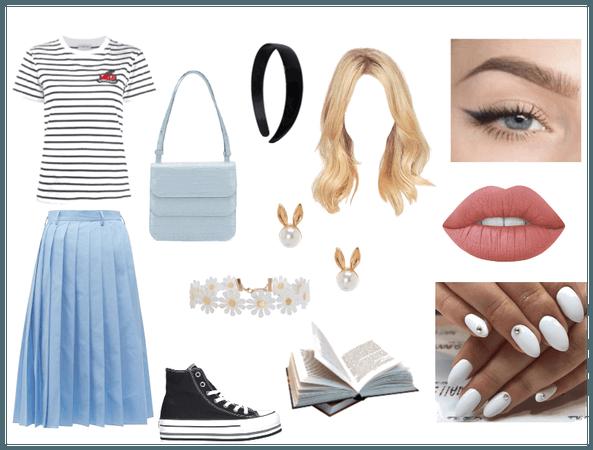 Modern Alice look
