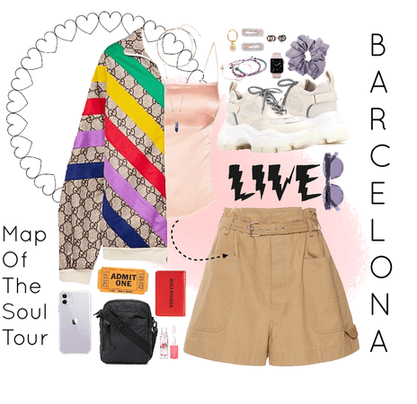 Outfit #1 Map of the Soul Tour in Europe