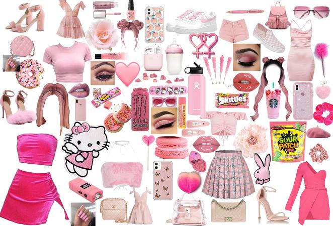 pink 🎀🎟🌸🌺🌷