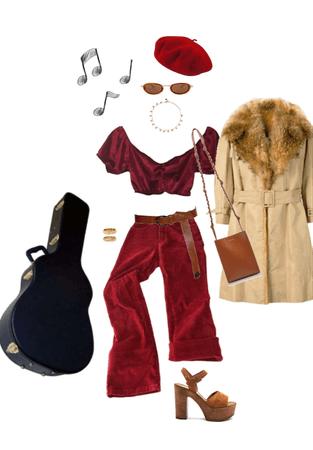 sidewalk musician