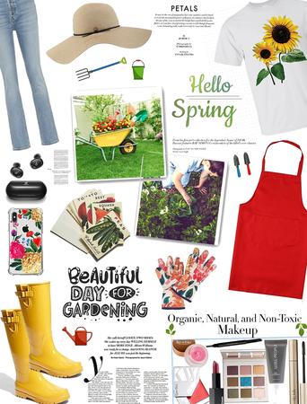 Spring look/ Gardening