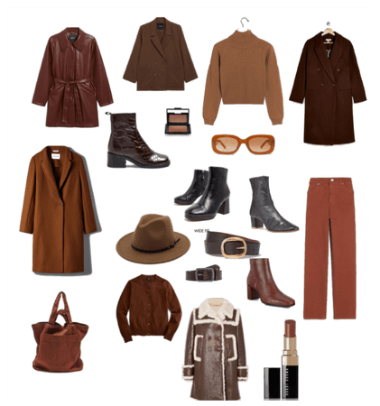 Dark Brown Fall/Winter Favs