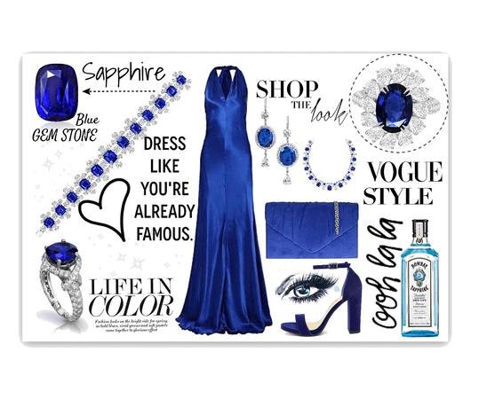 My favourite Gem Stone —- Blue Sapphire
