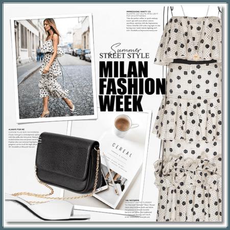Summer Street Style - Milan Fashion Week