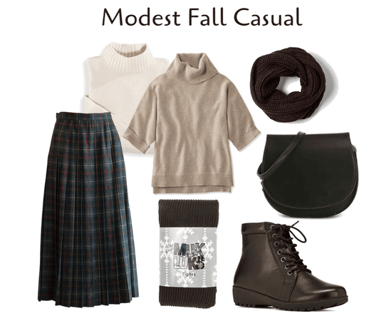 Modest Fall Casual