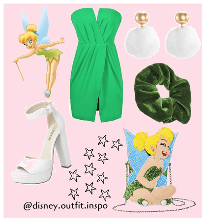 Tinker bell inspired outfit