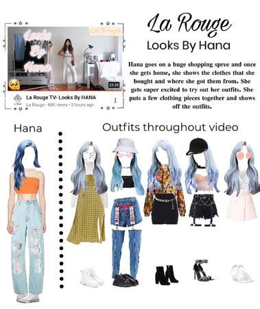 La Rouge TV- Looks By Hana