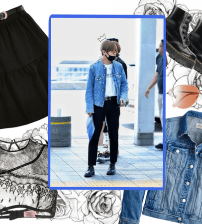 taehyung´s airport fashion inspo