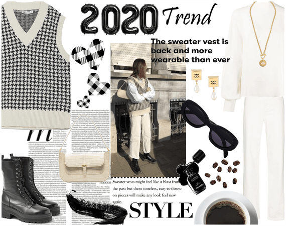 Sweater Vest 2020 trend