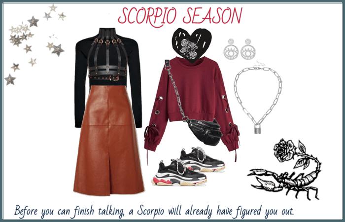 Scorpio Szn Contest Entry