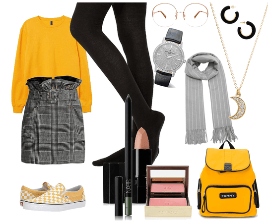 black and yellow♥