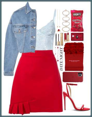 Date Night. Red+Blue