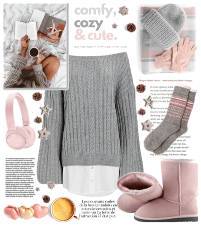 Comfy, cozy and cute 💗