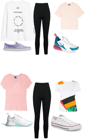 cute every day outfits w/ different brands