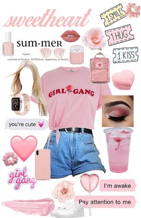 girl gang (pink life)