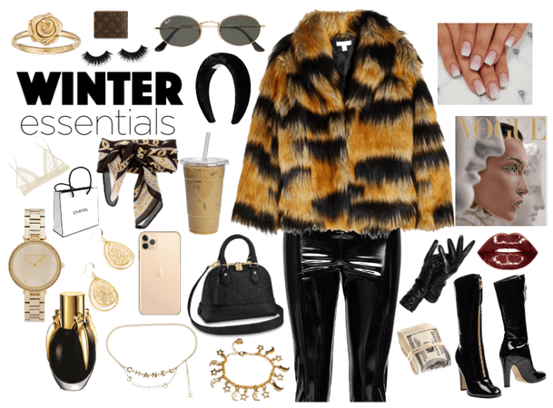 Boujie Winter Coat Realness