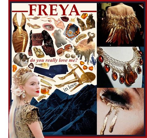 NORSE MYTHOLOGY: Freya