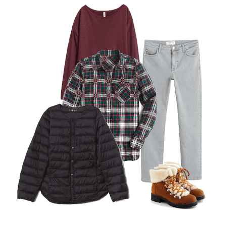 Cozy and Comfy Thanksgiving Outfit