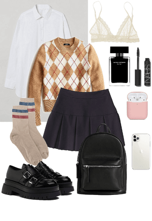 Teen's school outfit