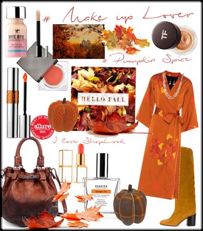 # Make-up lover # Pumpkin Spice # shoplook # Fall