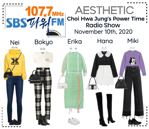 AESTHETIC (미적) [RADIO] Choi Hwa Jung's Power Time