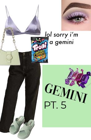 zodiac sign pt. 5 Gemini ♊️