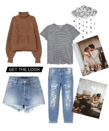 cozy indoor outfit