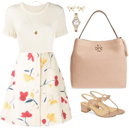 Flower Skirt 01