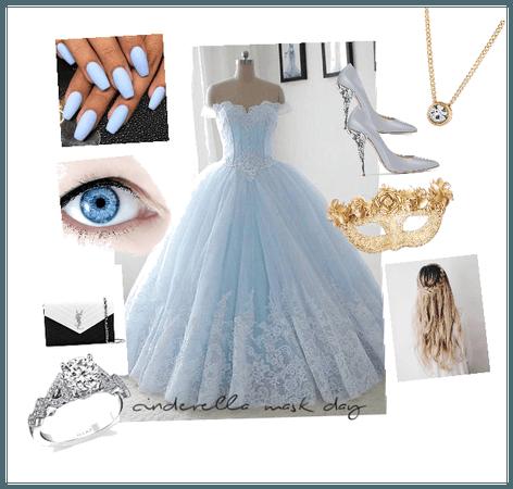 Cinderella mask day