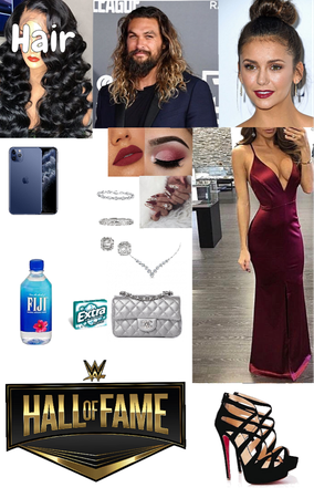 Aliya Attending The Hall Of Fame With Jason