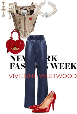 a Red Vivienne