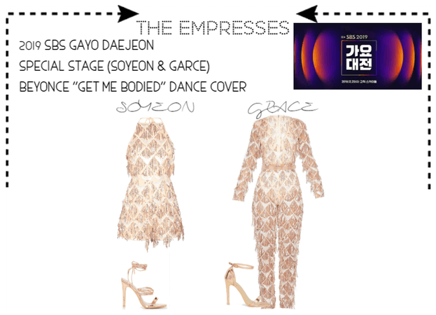 [THE EMPRESSES]2019 SBS GAYO DAEJEON SPECIAL STAGE